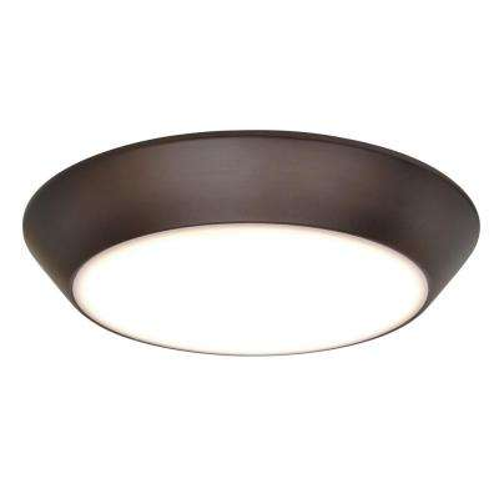 Convert LED 1-Light Bronze Flushmount