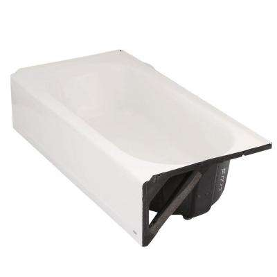 Princeton 5 ft. Americast Right Hand Drain Bathtub in White