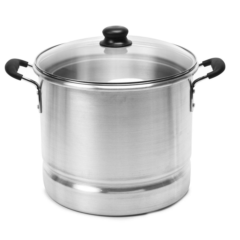 IMUSA IMUSA Aluminum 20 Qt. Tamale and Seafood Steamer