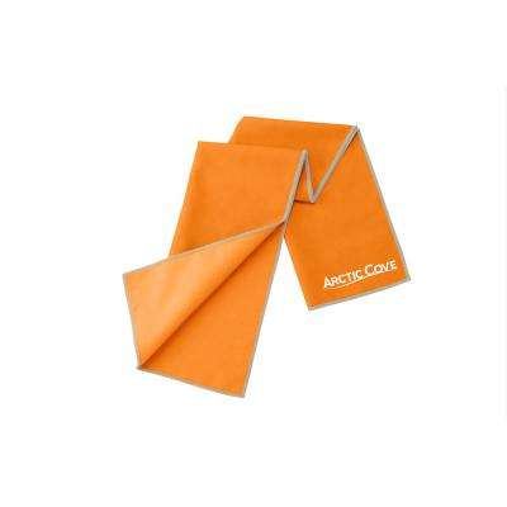 Large Cooling Towel Orange