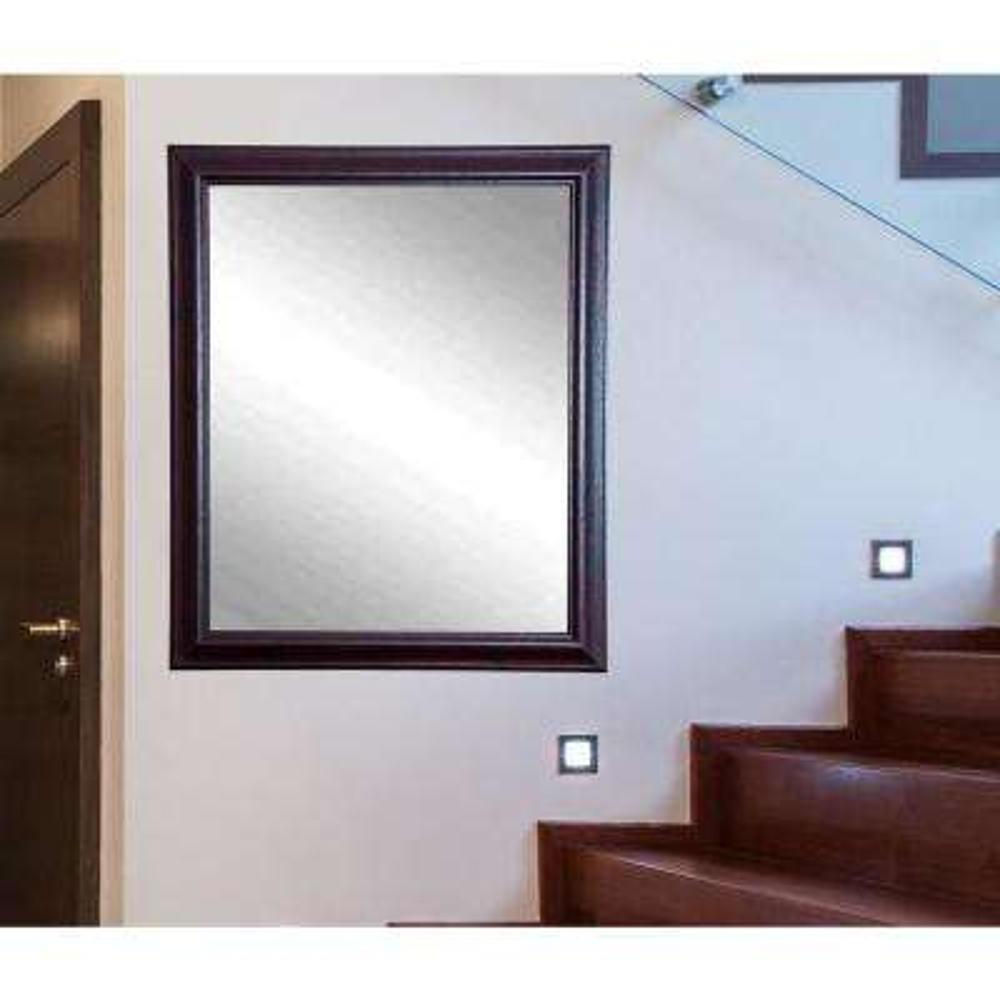 Nightfall Rectangle Burgundy Decorative Wall Mirror