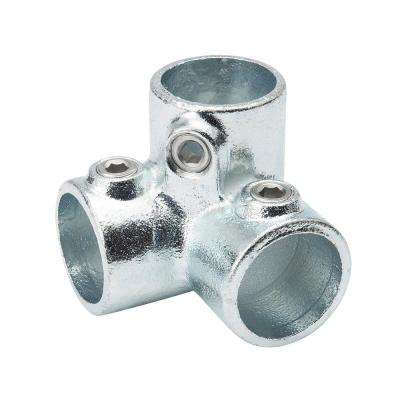 1-1/4 in. Galvanized Structural Steel 90-Degree Outlet Elbow (2-Pack)