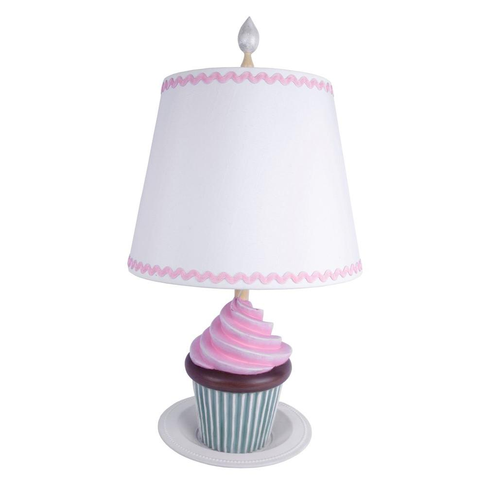 Sammy Pink Cupcake Deliciousness Table Lamp-DISCONTINUED
