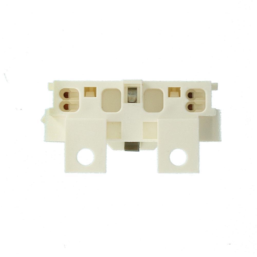 Leviton 23455 2G11 Base White Twin Tube Fluorescent Lampholder Horizontal 4-Pin