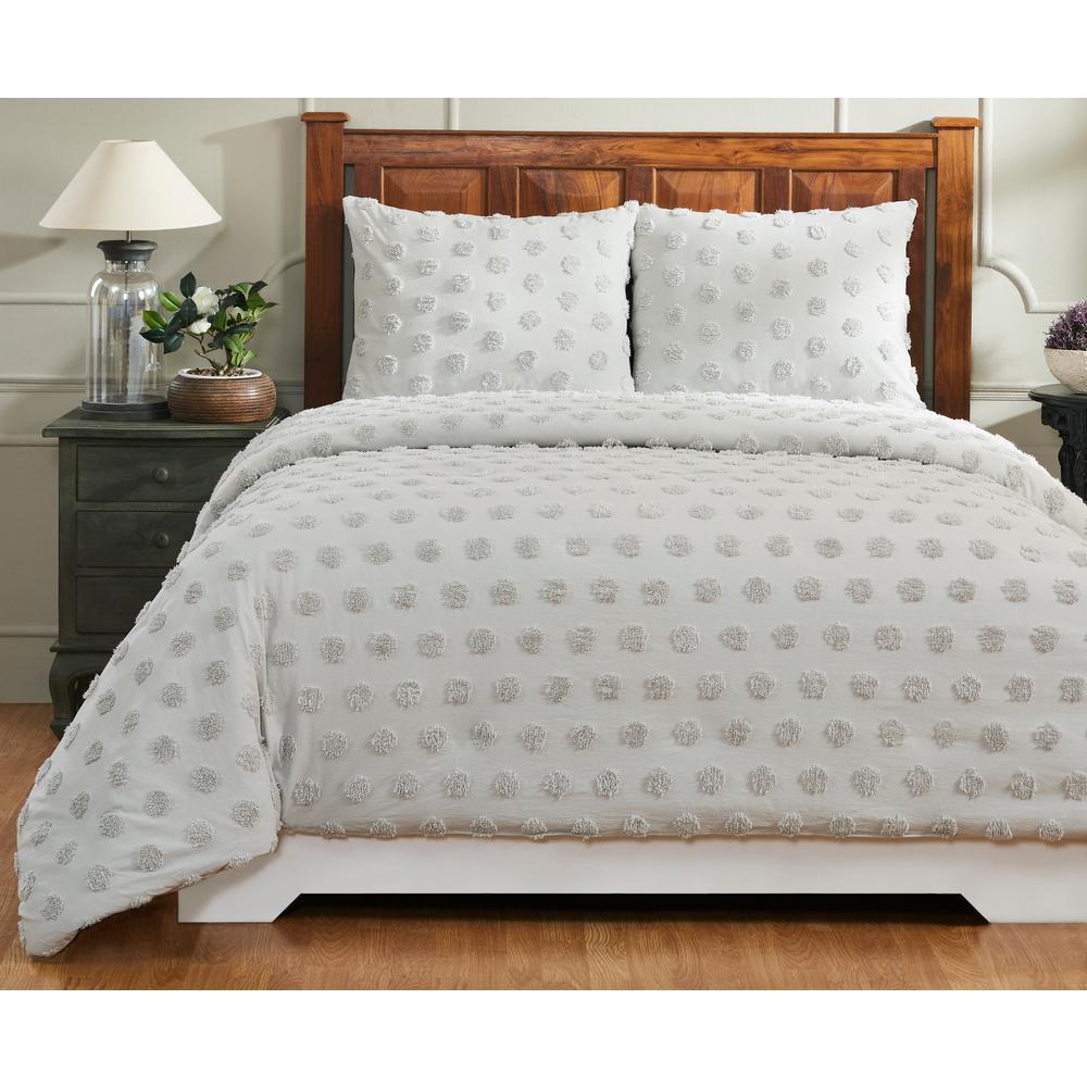 Better Trends Atenia Grey King Comforter SS-QUATKIGRY