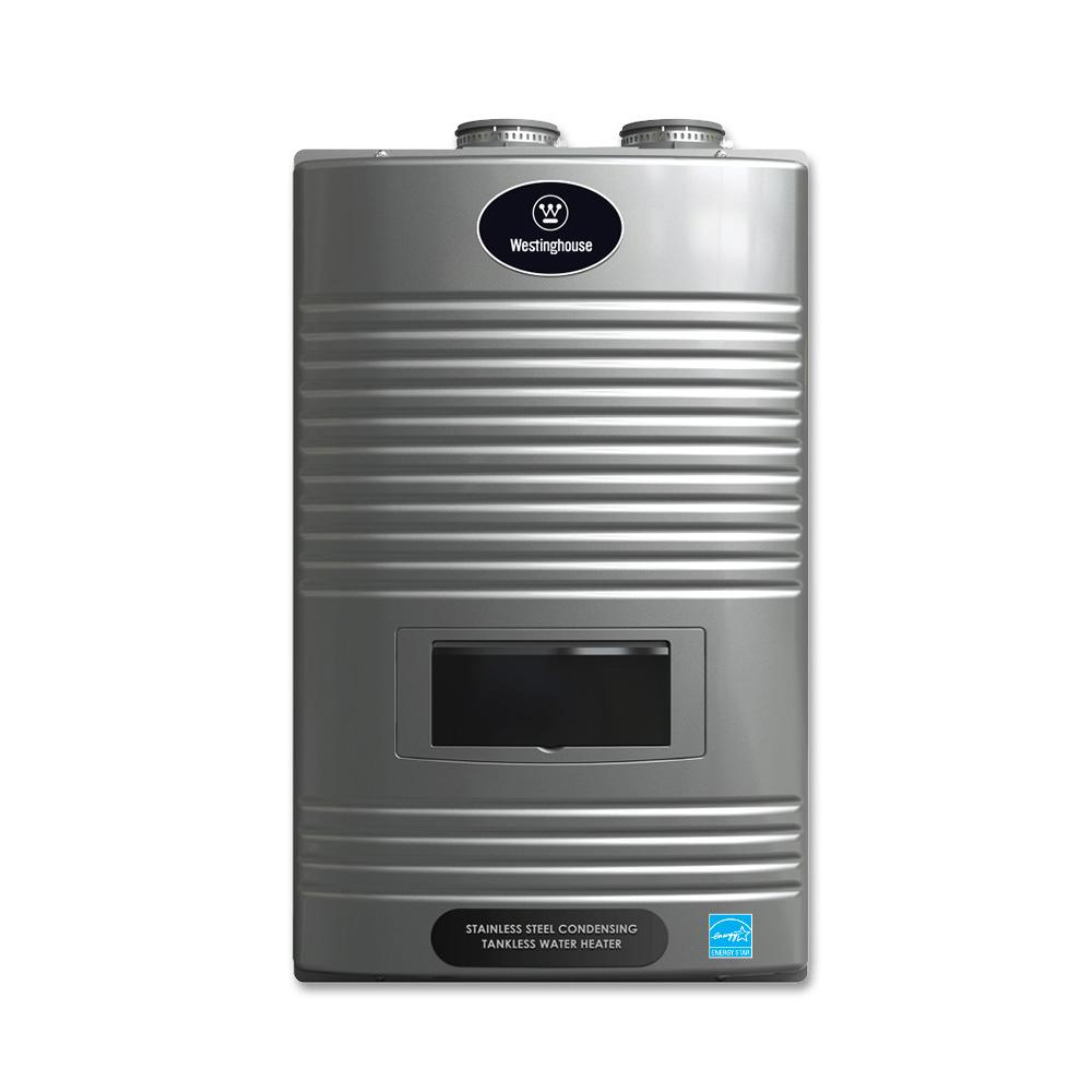 Westinghouse 11 GPM Ultra Low NOx Liquid Propane Gas Condensing High  Efficiency Tankless Water Heater