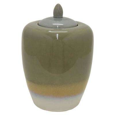 14 in. Ceramic Jar