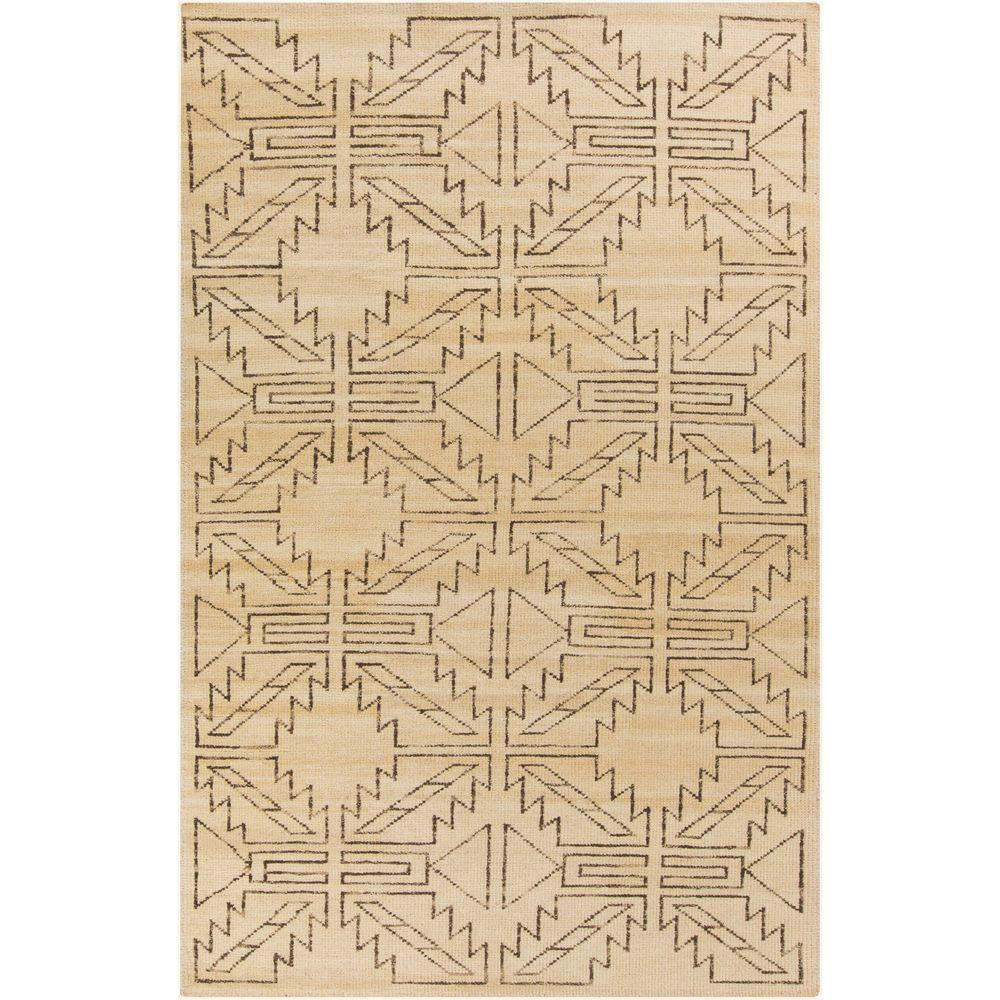 Zulway Lime (Green) 3 ft. 6 in. x 5 ft. 6 in. Indoor Area Rug
