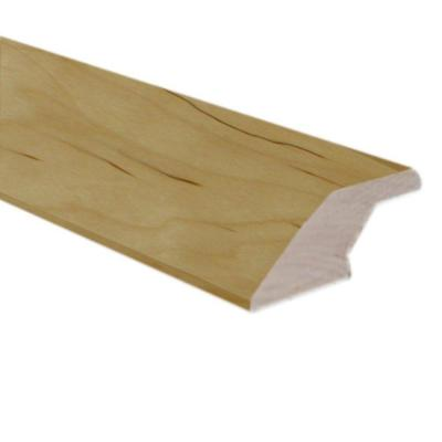 Unfinished Maple 0.75 in. Thick x 2.25 in. Wide x 78 in. Length Lipover Reducer Molding