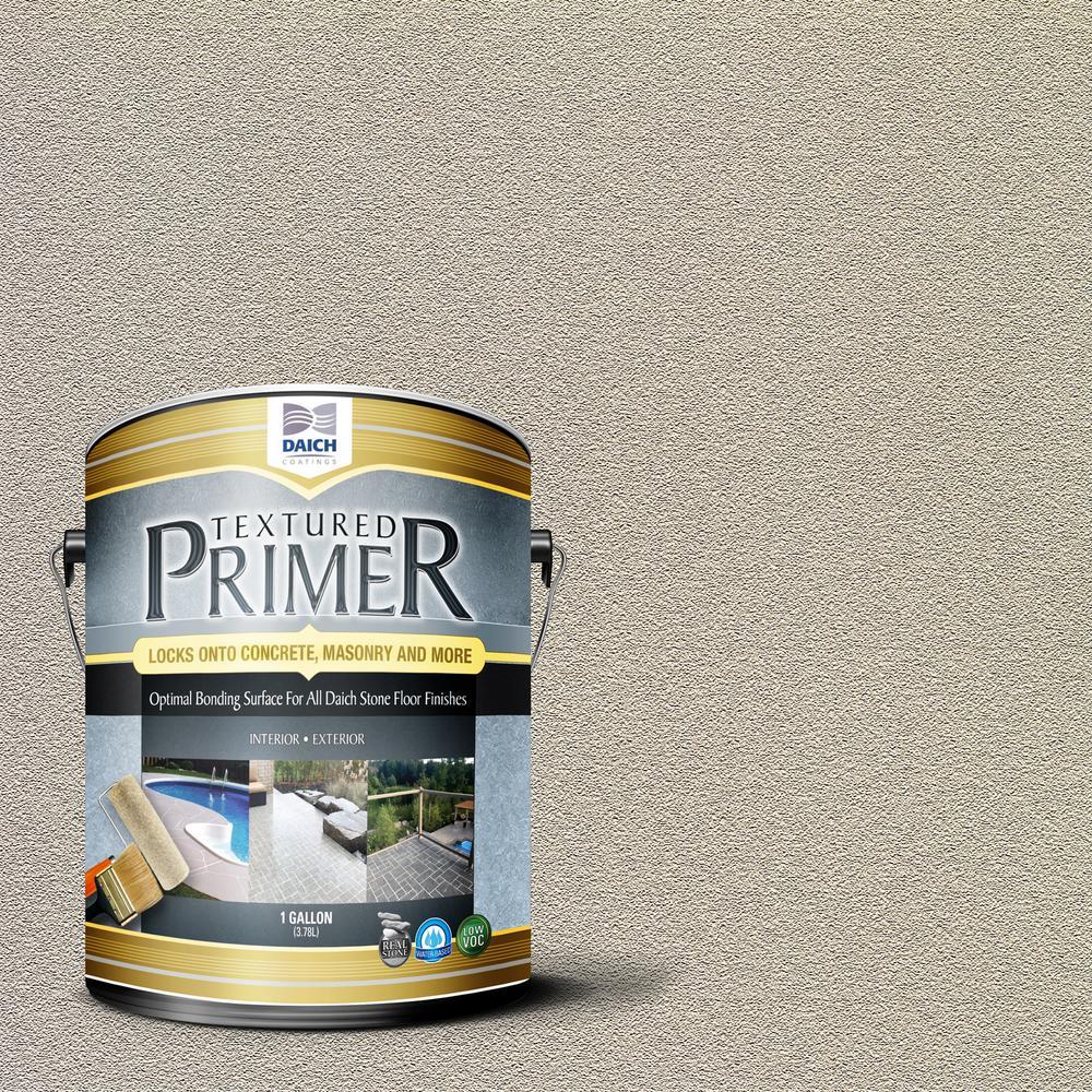 DAICH Textured 1 gal. Bonding Primer Bone Interior Exterior Penetrating Anti-Slip
