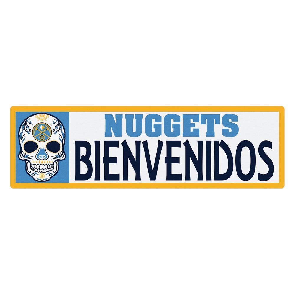 NBA Denver Nuggets Bienvenidos Step Graphic