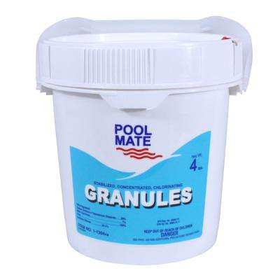 4 lb. Pool Concentrated Chlorinating Granules