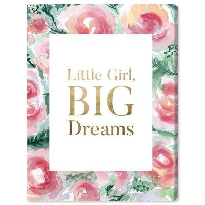 """Little But Big"" by Oliver Gal Canvas Wall Art"