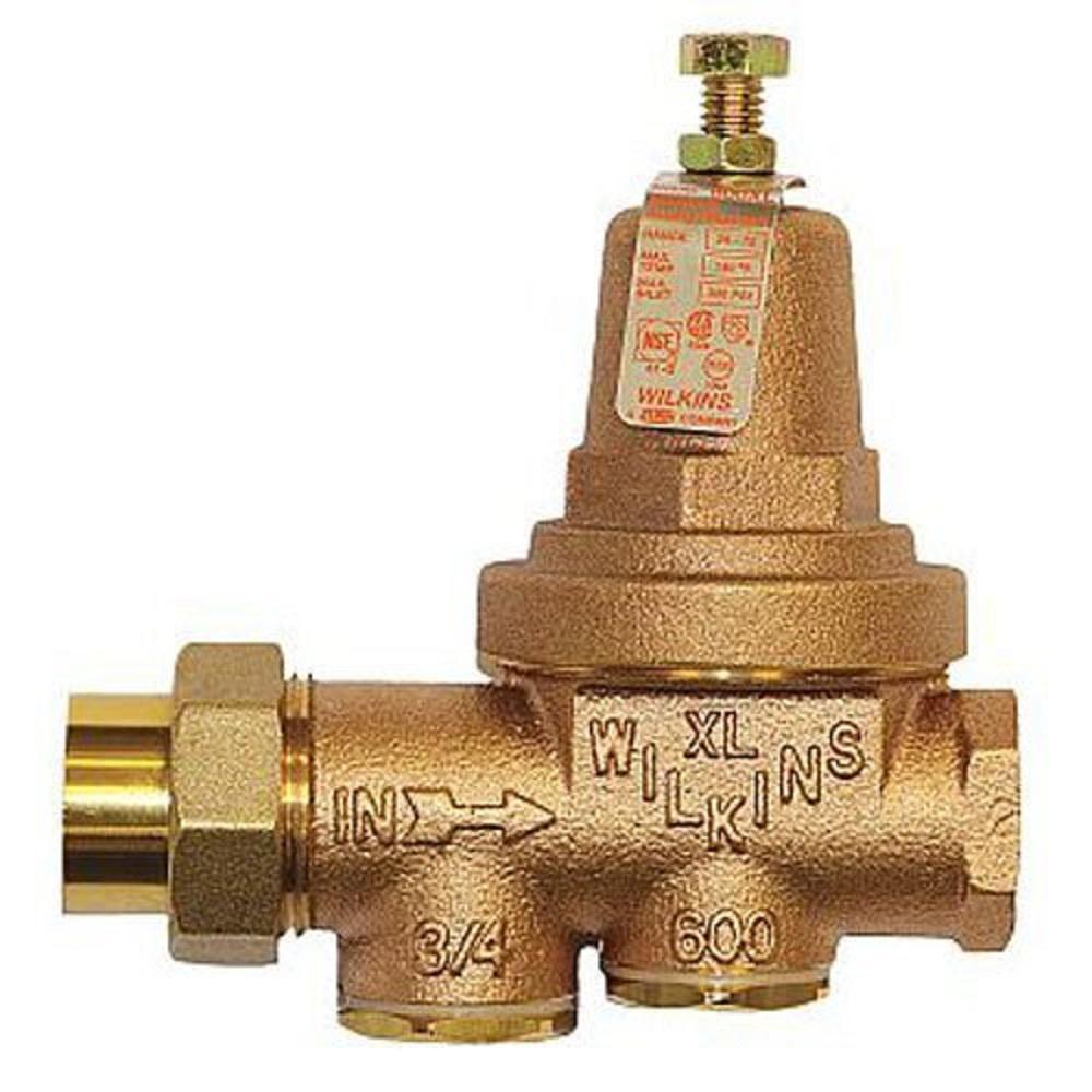 3/4 in. Brass Pressure Reducing Valve
