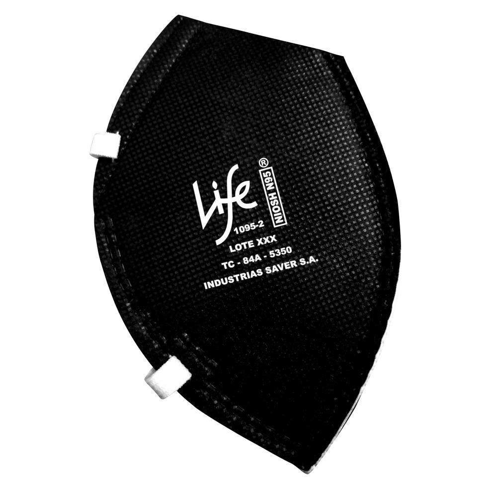 Multipurpose N95 Respirator Mask Black (20 per Pack)