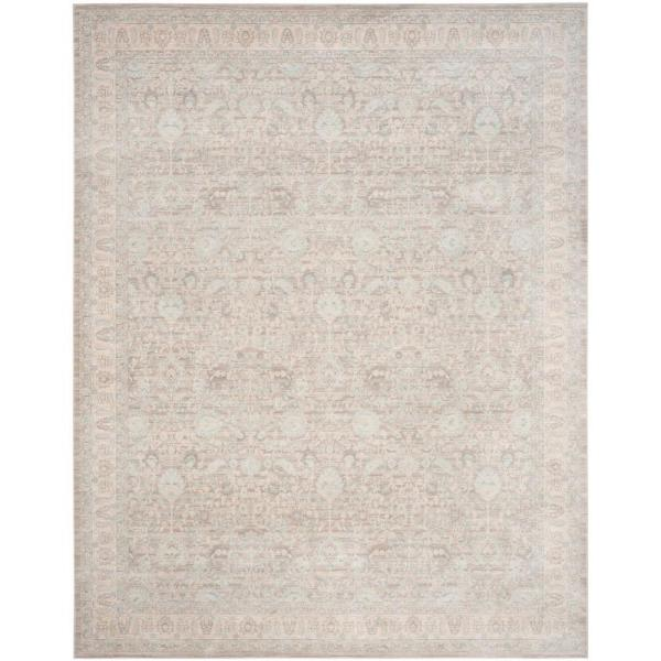 Safavieh Archive Grey/Light Grey 9 ft. x 12 ft. Area Rug