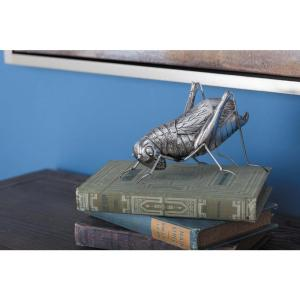 4 inch Insect Decorative Sculptures in Silver (Set of 3) by