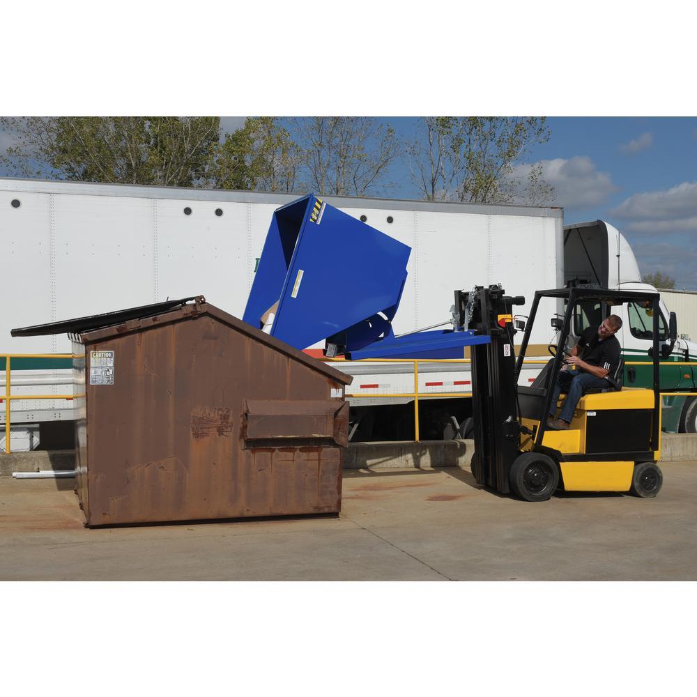 Vestil 4,000 lb. Capacity 2 cu. yd. Medium Duty Self-Dump Hopper