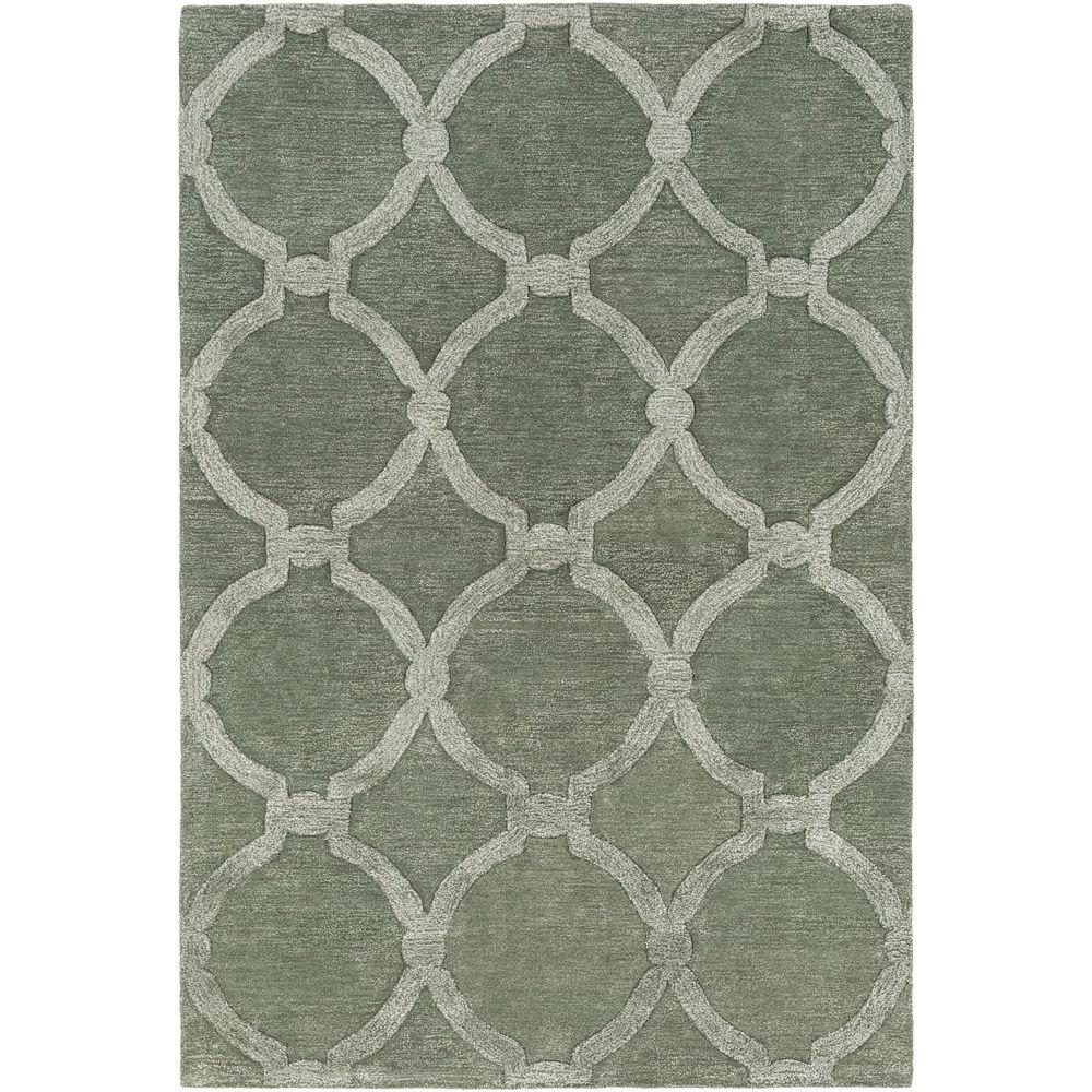Urban Lainey Sage 4 ft. x 6 ft. Indoor Area Rug