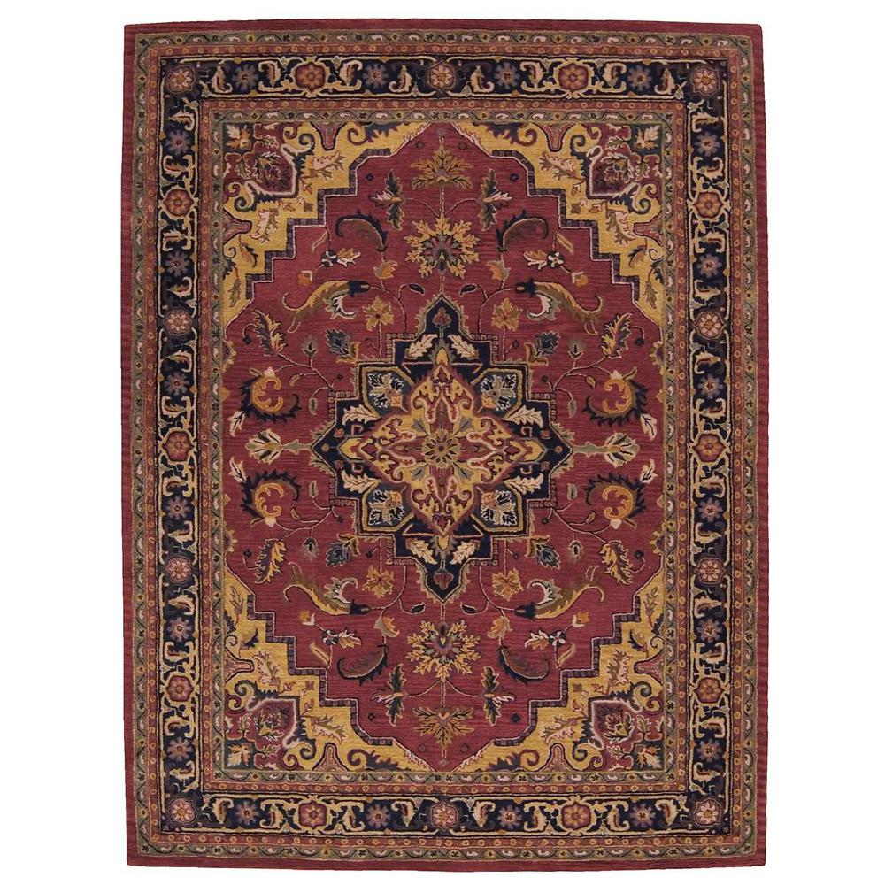 Nourison India House Rust 8 Ft. X 11 Ft. Area Rug-044983