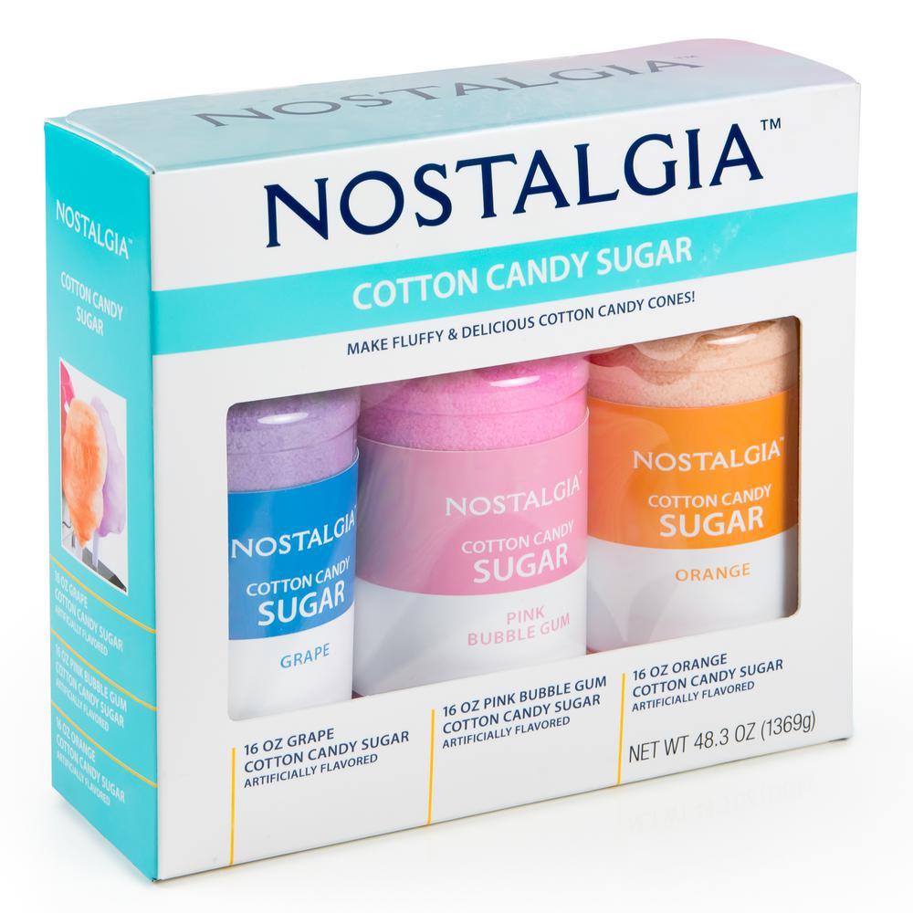 Nostalgia Cotton Candy Floss Sugar Accessory Kit