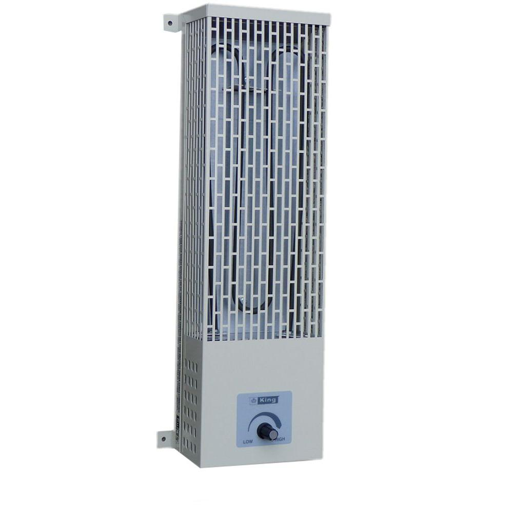 King Electric 5 in. 1000-Watt Radiant Heat Pump-House Heater-DISCONTINUED