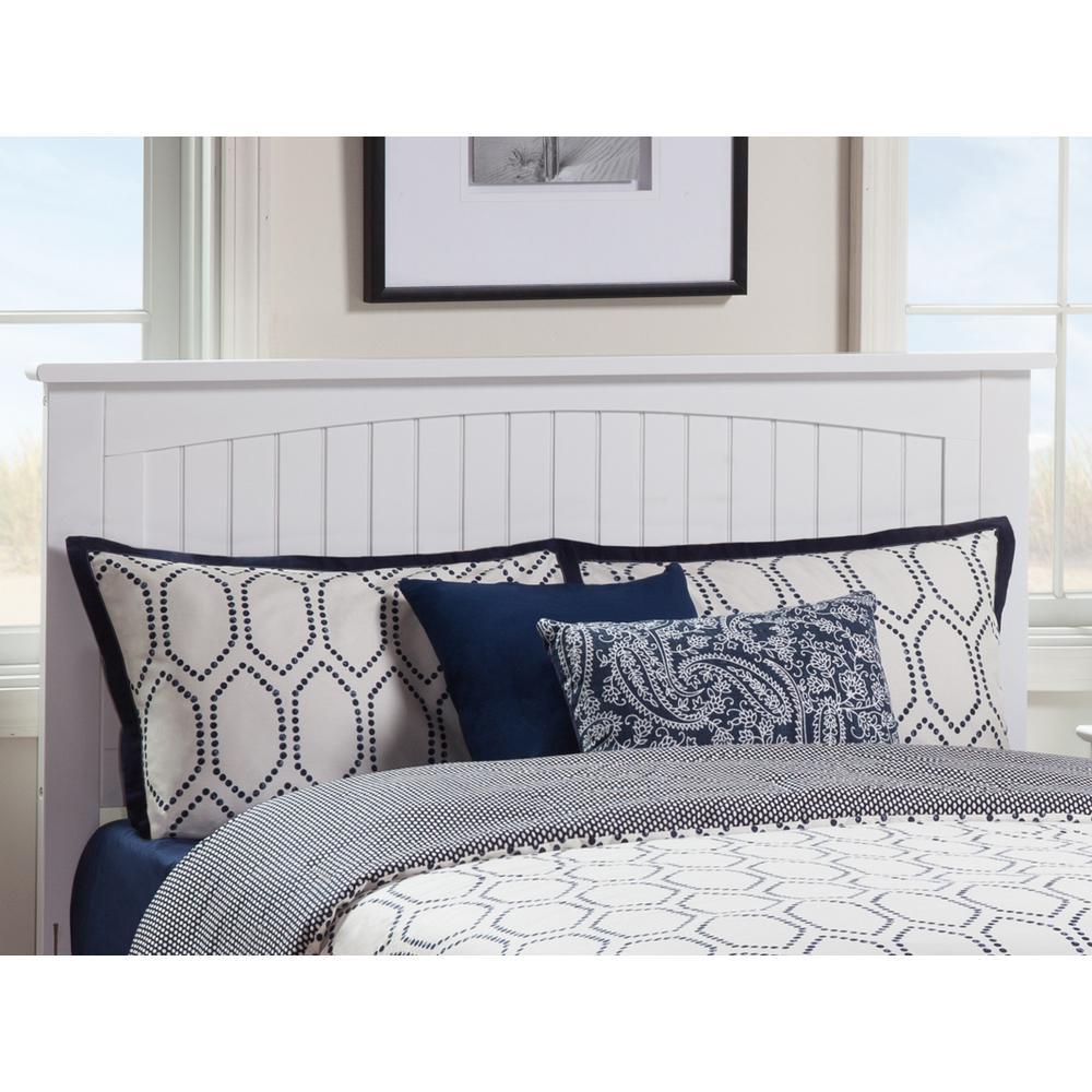 Atlantic Furniture Nantucket White King Headboard AR282852 ... on nantucket nautical symbols on houses, nantucket harbor wall art, nantucket bedroom design,