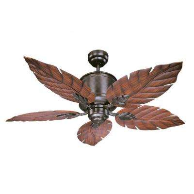 Arxiv 10 in. Indoor/Outdoor English Bronze Ceiling Fan