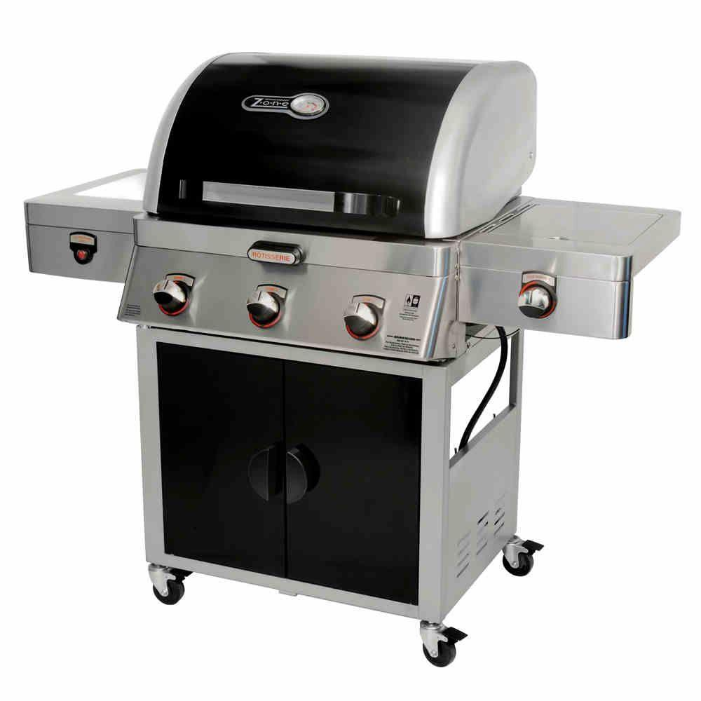 Brinkmann Zone 5-in-1 Cooking System Dual Fuel Gas Grill