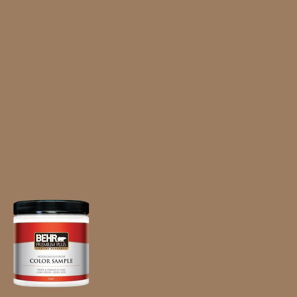 8 oz. #BXC-08 Safari Brown Interior/Exterior Paint Sample