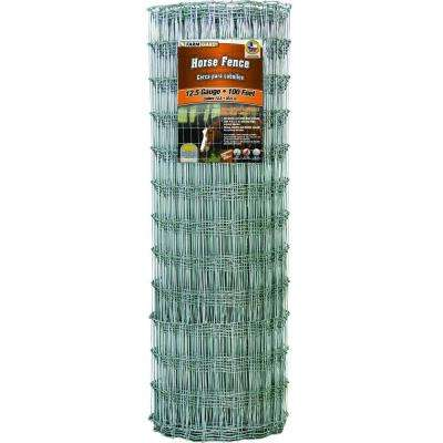 48 in. x 100 ft. Horse Fence with Galvanized Steel Class 1 Coating