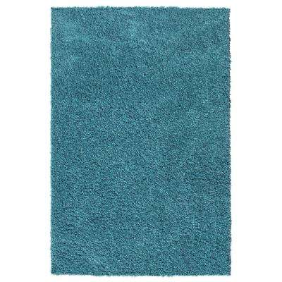 Bella Collection Turquoise 3 ft. 3 in. x 4 ft. 8 in. Area Rug