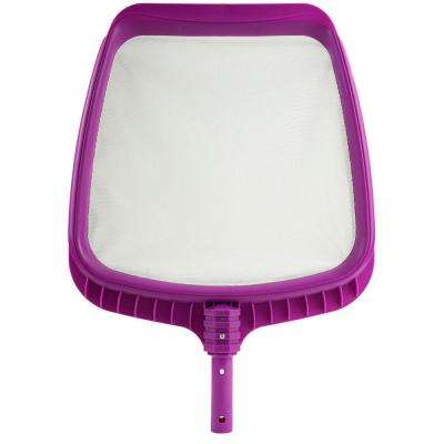 21 in. Orchid Purple Deluxe Pro-Series Swimming Pool Mesh Skimmer Head