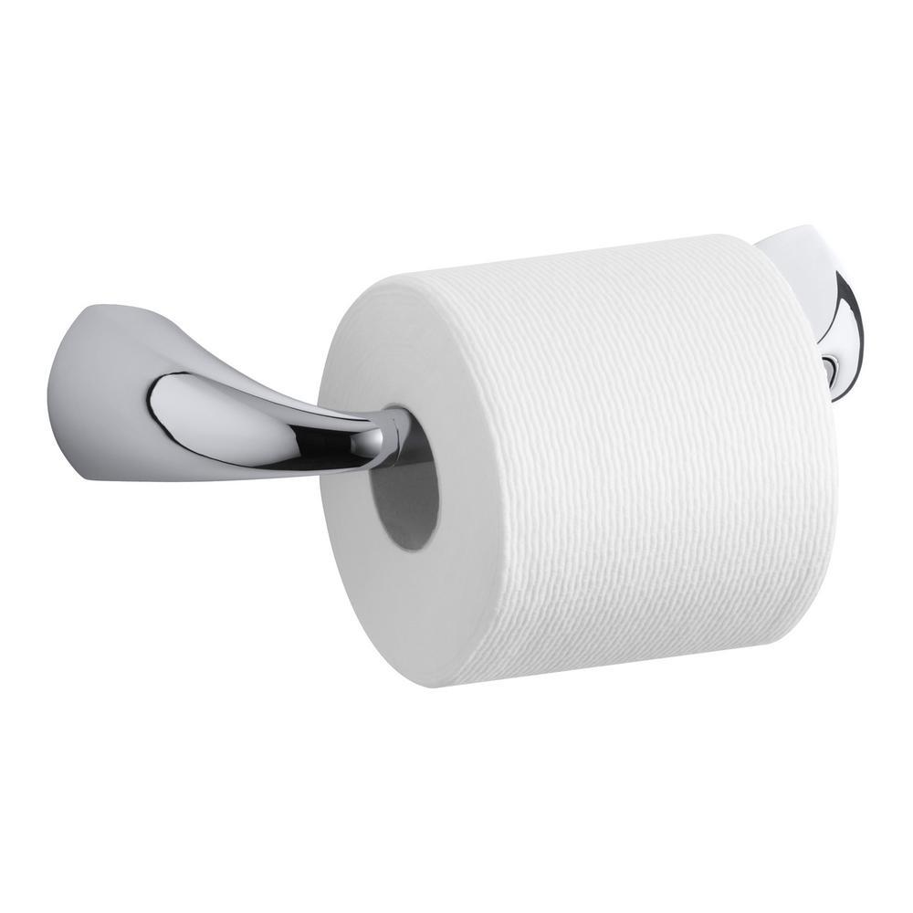 KOHLER Alteo Pivoting Single Post Toilet Paper Holder in Polished ...