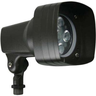 11-Watt Bronze Outdoor Integrated LED Area Light