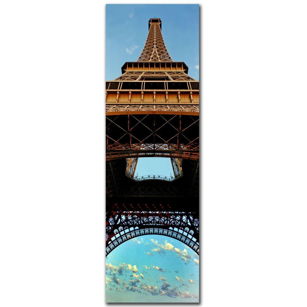 10 in. x 32 in. Tour de Eifle I Canvas Art