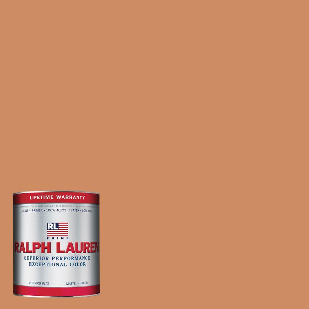 Ralph Lauren 1-qt. Old Brownstone Flat Interior Paint
