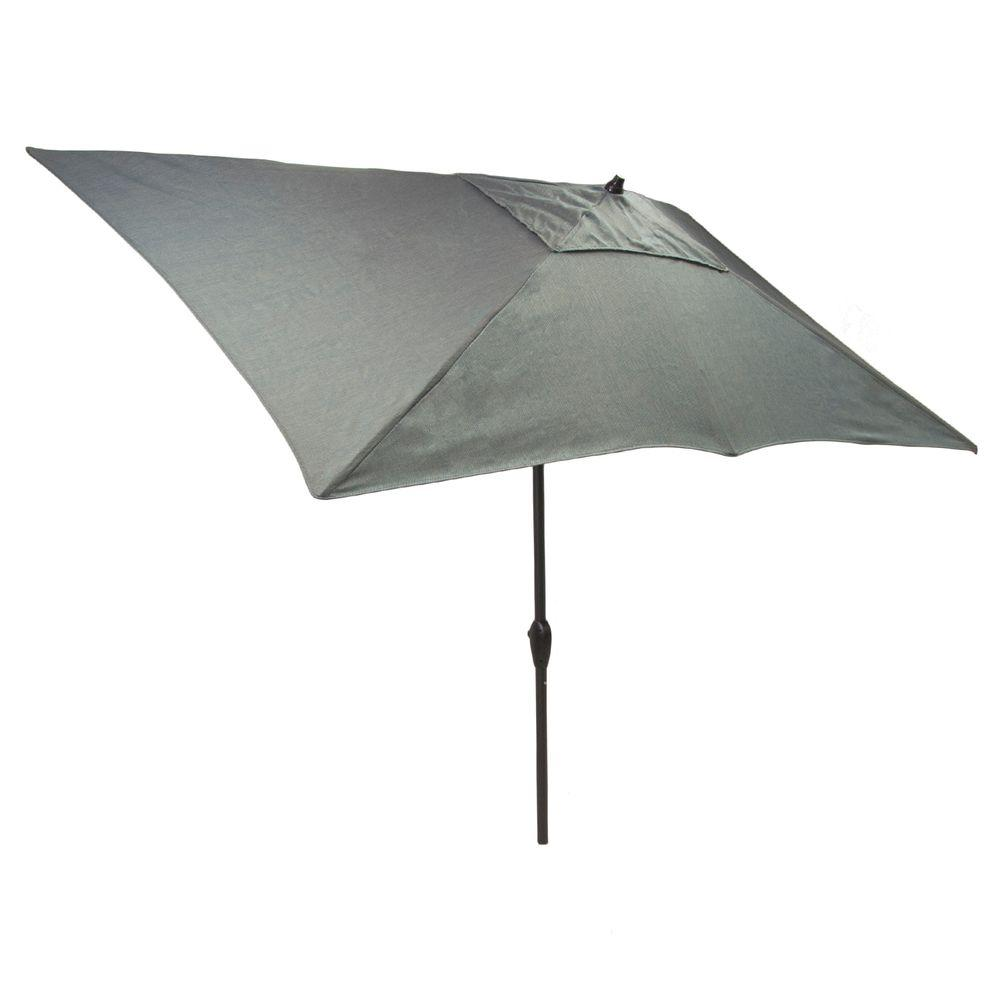 Aluminum Patio Umbrella In Peacock Java
