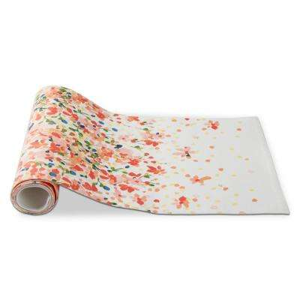 Petals Multicolor Cotton Table Runner