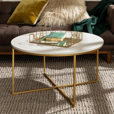 66f5fafd7f Round - Coffee Tables - Accent Tables - The Home Depot