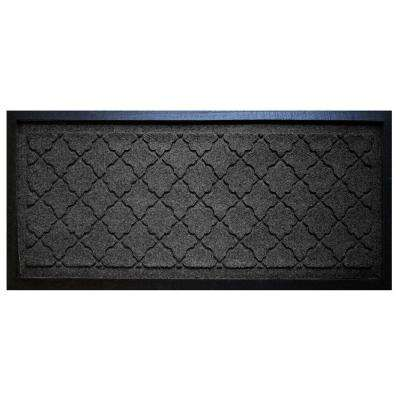 Charcoal 15 in. x 36 in. Cordova Boot Tray