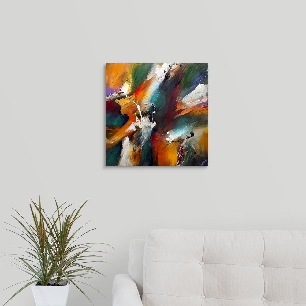Greatcanvas Primal Virtue By Jonas Gerard Canvas Wall Art 1119794 24 16x16 The Home Depot