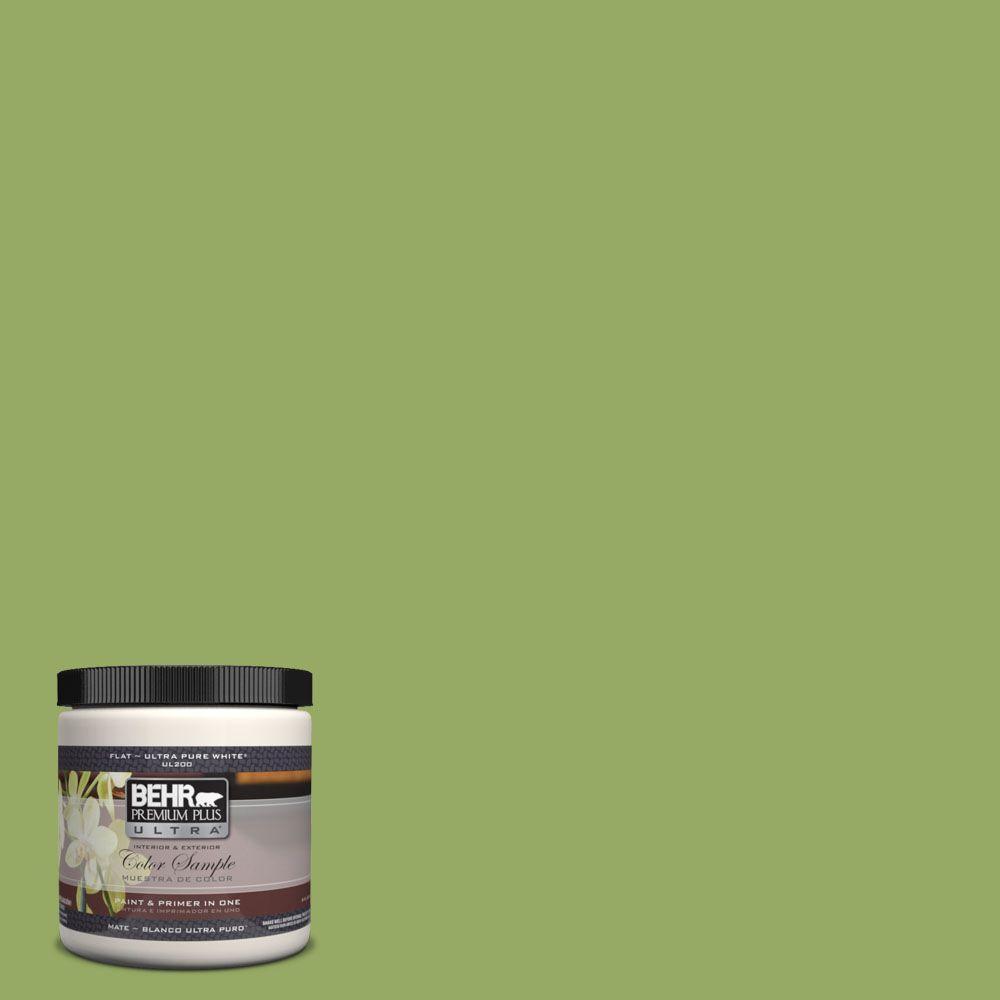 BEHR Premium Plus Ultra 8 oz. #420D-5 Herbal Garden Interior/Exterior Paint Sample