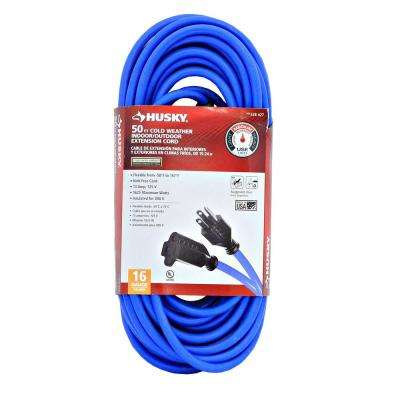 50 ft. 16/3 (-50°) Cold Weather Extension Cord
