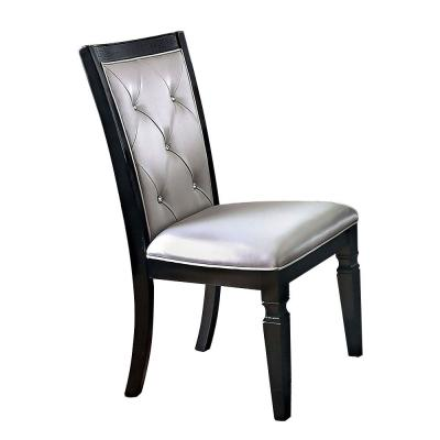Alena Black Side Chair