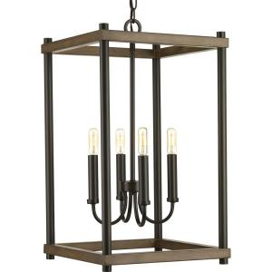 Fontayne Collection 4-Light Antique Bronze Pendant