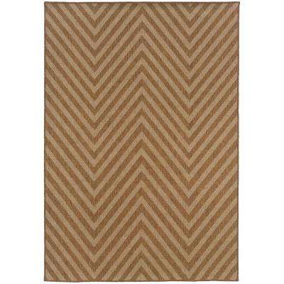 Cayman Beige 8 ft. x 11 ft. Area Rug