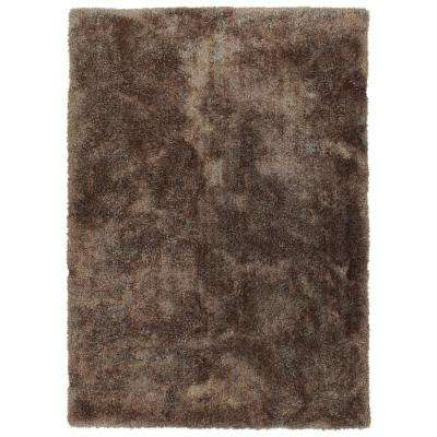 It's So Fabulous Brown 9 ft. x 12 ft. Area Rug