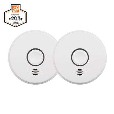 American Red Cross 10-Year Sealed Battery Smoke Detector with Intelligent Wire-Free Voice Interconnect  (2-pack)