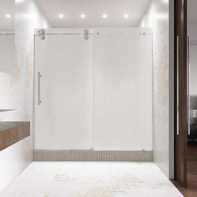 Elan 60 In X 74 Frameless Sliding Shower Door